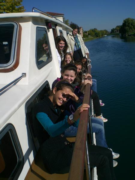 Uscita in barca classi prime