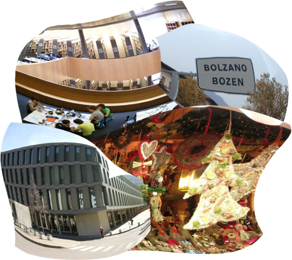 Presente, Futuro: Università di Bolzano e mercatini.